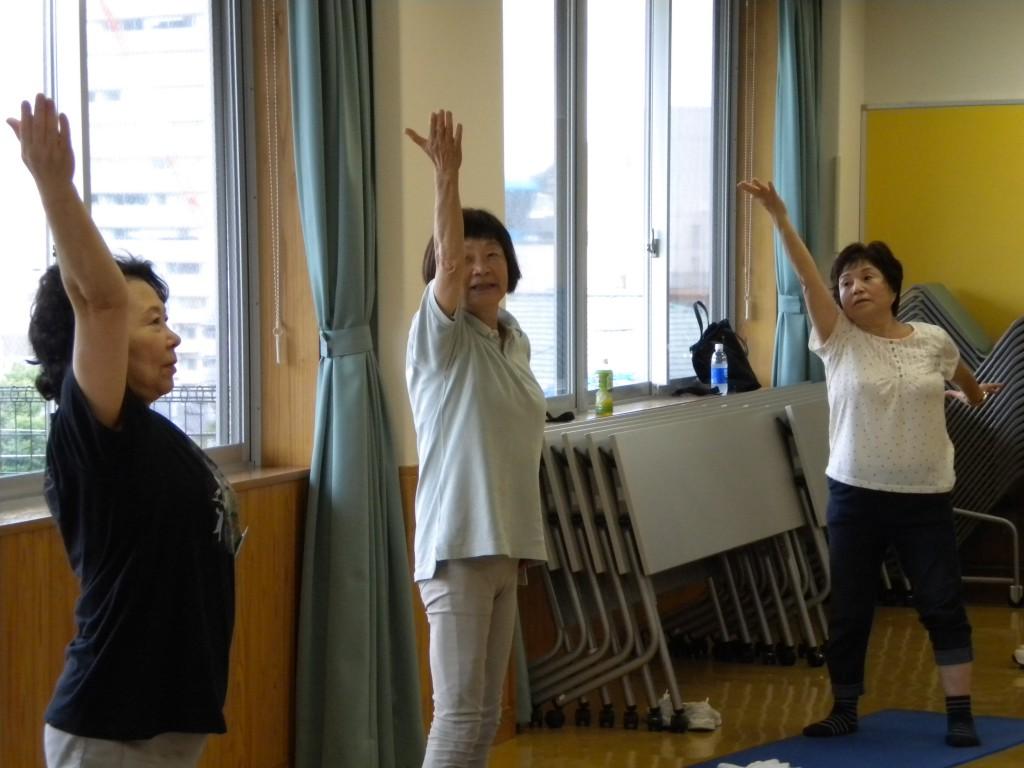 健康体操(全8回)に関する画像