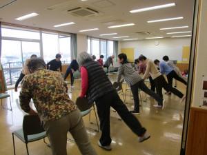 土曜健康体操(全9回)に関する画像