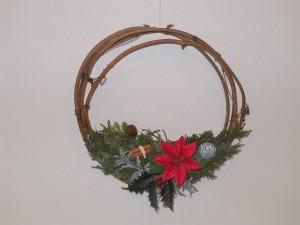 クリスマスリースを作ろうに関する画像